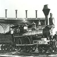484 Terrace Locomotive and Sheds 1870.jpg